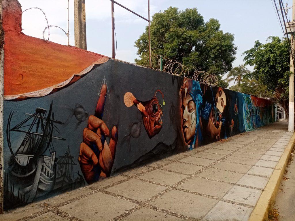 Graffiti Wall Z, Puerto Marques 2020 Graffiti art, Acapulco, GRO., MX