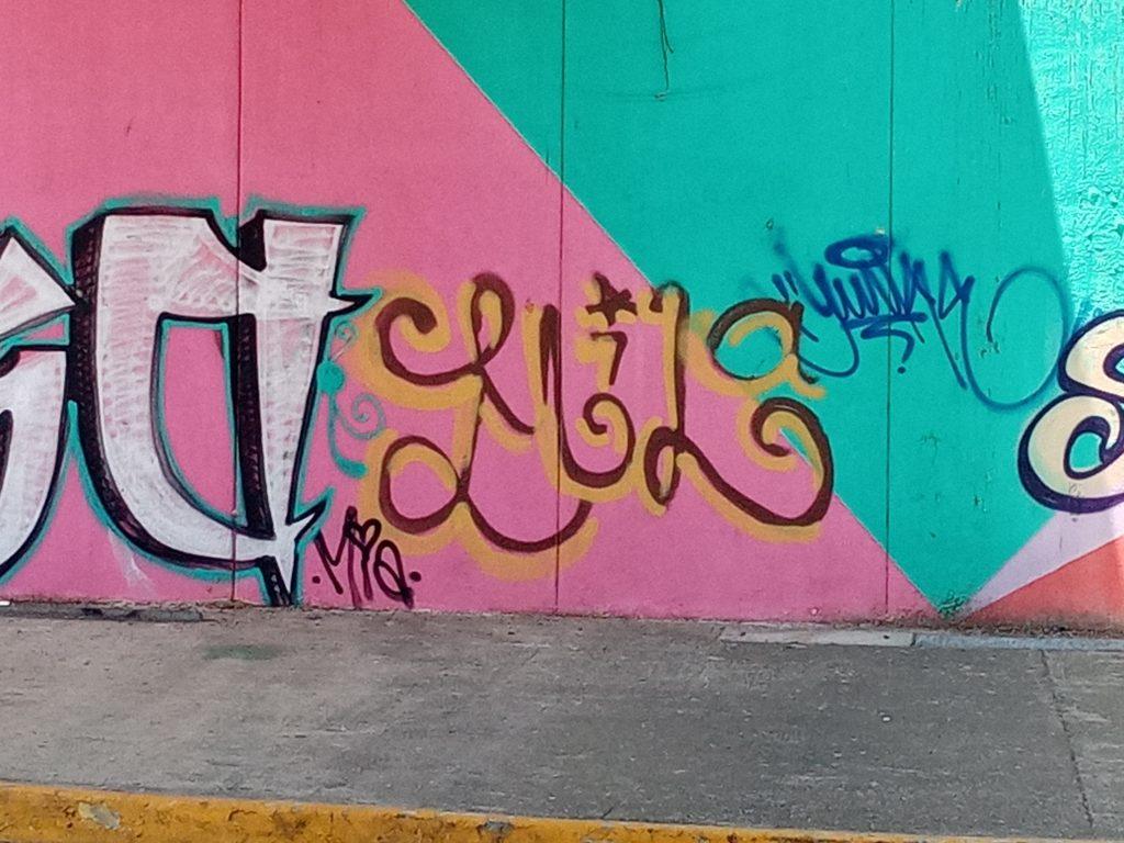 Graffiti X at Glorieta, April 2021; Graffiti art, Acapulco, GRO., MX