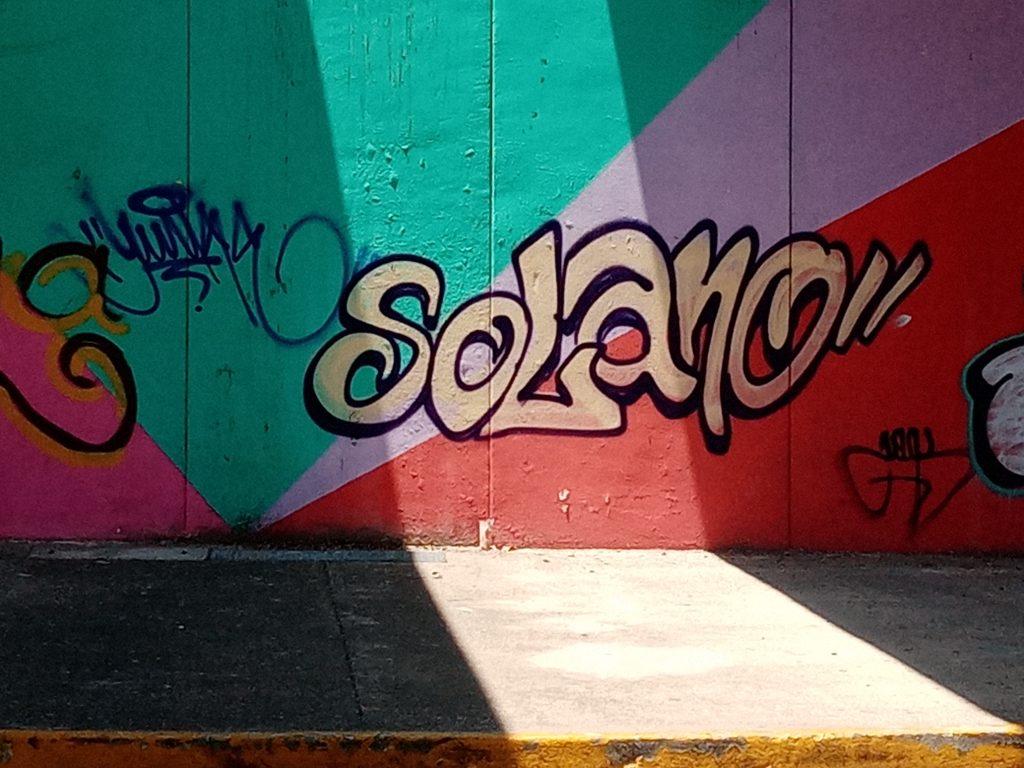 Graffiti Y at Glorieta, April 2021; Graffiti art, Acapulco, GRO., MX