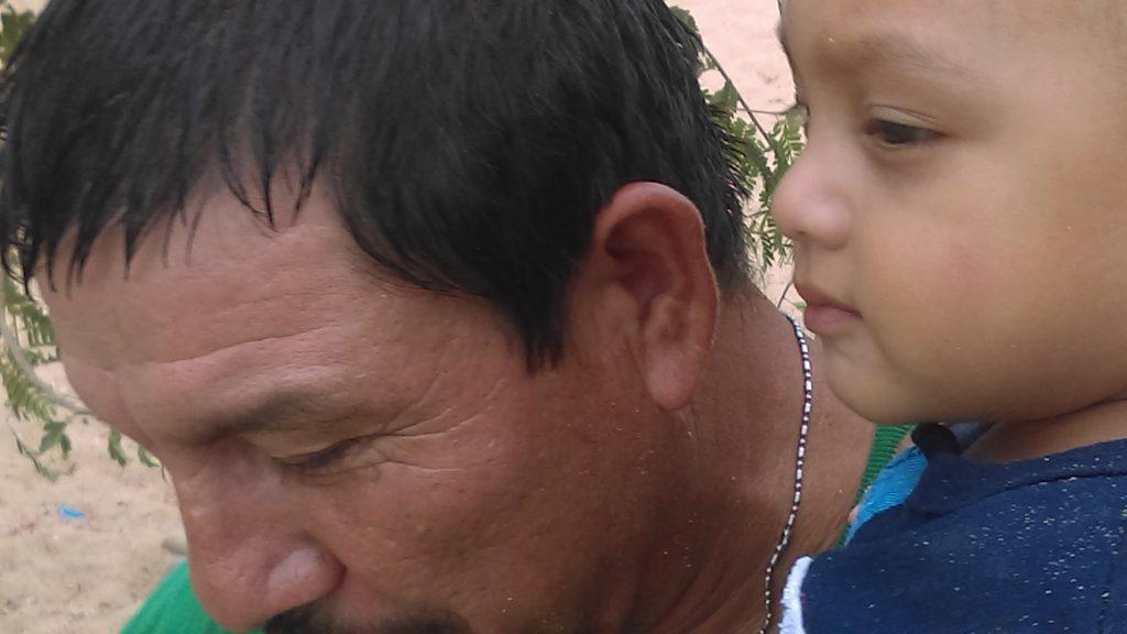 Matteo And Mingo at Puerto Marquez Bay, Acapulco 2016
